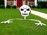 How to Make a Lawn Skeleton
