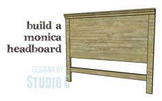 Plans to Build a Monica Headboard