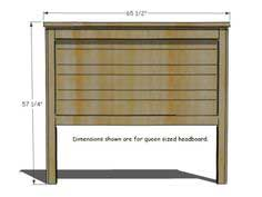 Build a Rustic Wood Headboard