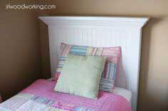 Twin Bed Beadboard Headboard