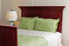 Headboard and Footboard from Doors