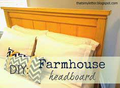 Build: Farmhouse headboard