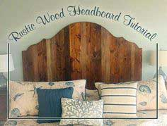 Rustic Wood Headboard for $80