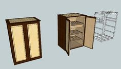 Cabinet Humidor Plans