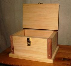 Free Wooden Box Plans