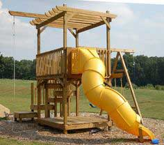 How to Build a Backyard Play Structure / Fort