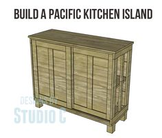 Build pacific kitchen island