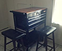 Tool Chest Kitchen Island