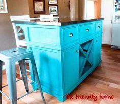 Shepard Kitchen Island Plans
