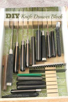 Over 30 Diy Knife Block Plans And Holder Plans Planspin Com