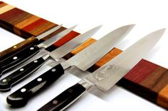 Tutorial - Rainbow Wood Magnetic Knife Strip