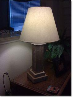 Wooden Lamp tutorial