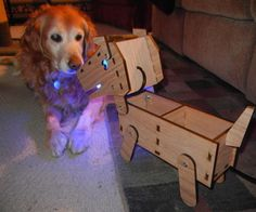LED Doggy Lamp
