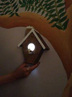 Birdhouse Nightlight