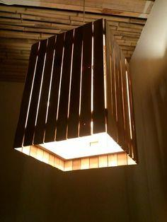Reclaimed Wood Light
