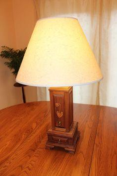Lamp & jewelry box combo