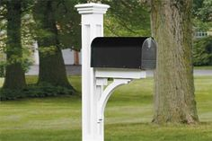 Build a paneled mailbox post