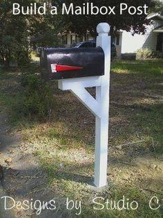 Build a Mailbox Post
