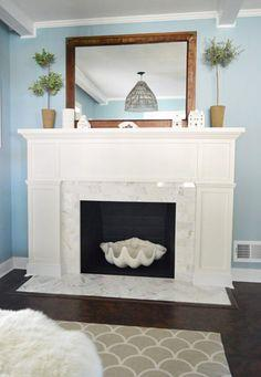Fireplace Makeover: Stick A Fork In It