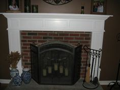 how to: Build a Fireplace Mantel