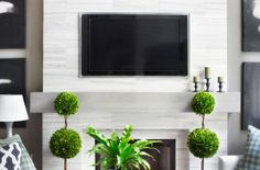 Make a Floating Wood Mantel