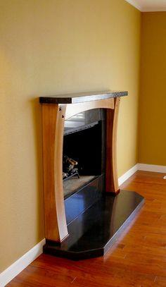 Rebuilding a Fireplace Surround