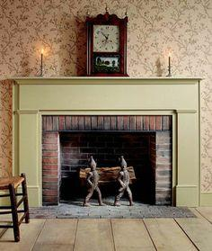 Free Plans: Federal Fireplace Mantel