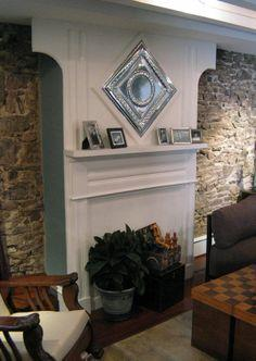 How to Build an Extended Fireplace Mantel