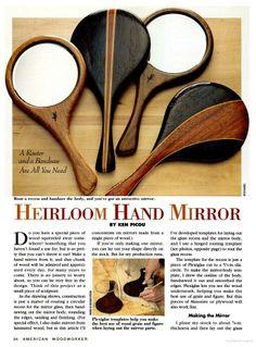 Hand Mirror tutorial