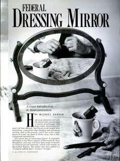 Dressing mirror tutorial