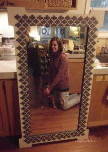 Free Plans to Build a Joss & Main Branford Mirror Frame