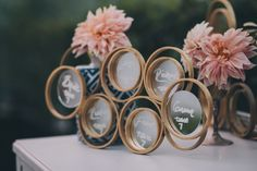 DIY Ring Mirror Backdrop