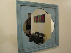 Quatrefoil Mirror Tutorial