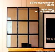 Tutorial: PB-Inspired Tiled Mirror for $10
