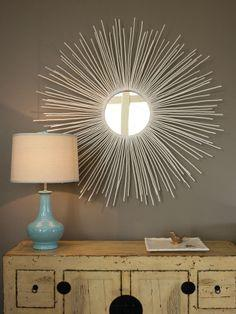 Create a Sunburst Mirror