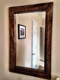 Wood Mirror Frames