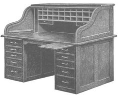 Roll Top Desk plans