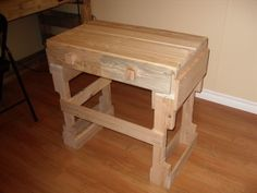 Two Pallet Table tutorial