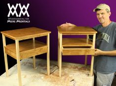 Make a pair of nightstands