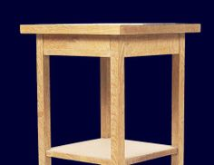 Build a Bedside Table