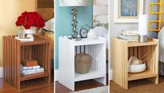 Bedside table tutorial