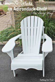 Adirondack Chair – The Easy Way