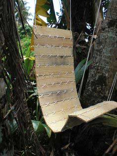 Laced Pallet, Hanging Chair