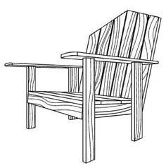 Free Adirondack Chair Plan