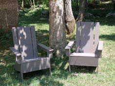 Build a Modish Adirondack Chair