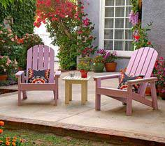 plans to build a Adirondack Chair