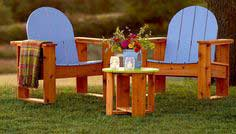 Adirondack-Inspired Chairs