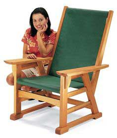 Craftsman-Style Outdoor Chair