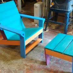 Outdoor Modern Adirondack Chair