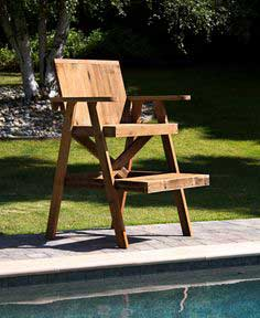 Lifeguard Chair Recycled Lumber